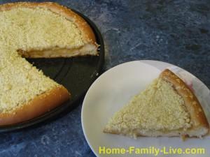 Пироги со штрейзелем
