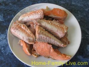 отделим рыбу от костей