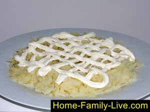 Картошка первый слой
