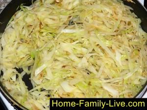 Тушить белокочанную капусту для бигуса