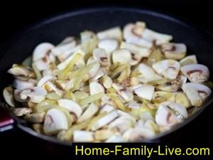 Грибы с луком жарить