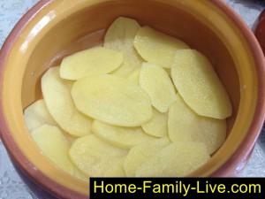 Картошка в горшочке фото