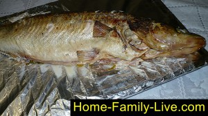 Украшаем рыбу