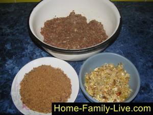 Зразы мясные с капустой в мультиварке