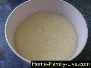 Тесто для дрожжевых блинов
