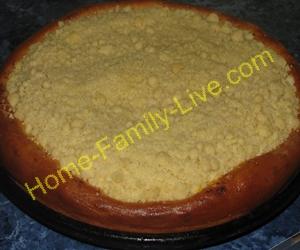 Пирог ватрушка