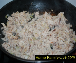 Мясная начинка для курника