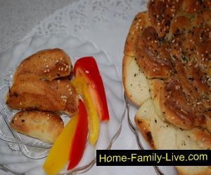 Турецкий хлеб Роза