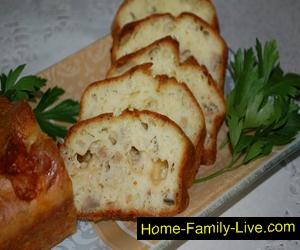 Паштида с грибами и сыром