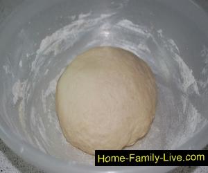 Рецепт дрожжевого теста для пирога