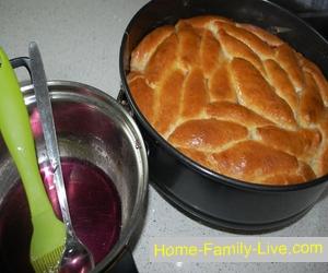 Пирог с тройной начинкой