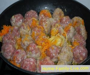 Тефтели в сливочном соусе