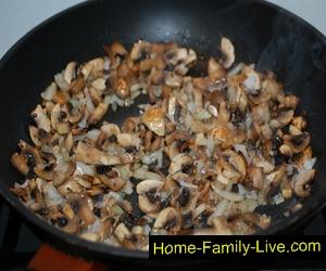 Зразы с грибами