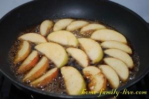 Яблоки в слоеном тесте(Копировать)