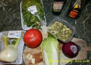 Салат из фенхеля