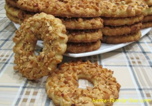 Печенье с орехами