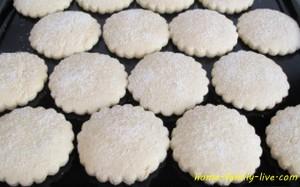 Корж сахарный