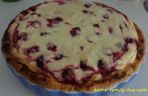 Пирог с вишней